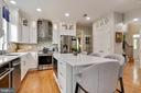 Renovated kitchen with upgraded SS appliances - 802 SE TINA DR SE, LEESBURG