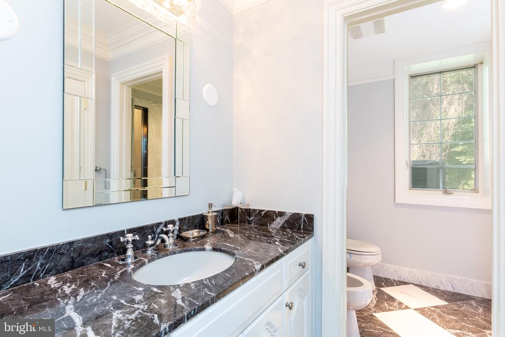 Lower Level Bathroom - 6822 GEORGETOWN PIKE, MCLEAN