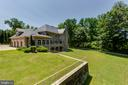 Rear Exterior Grounds - 6822 GEORGETOWN PIKE, MCLEAN