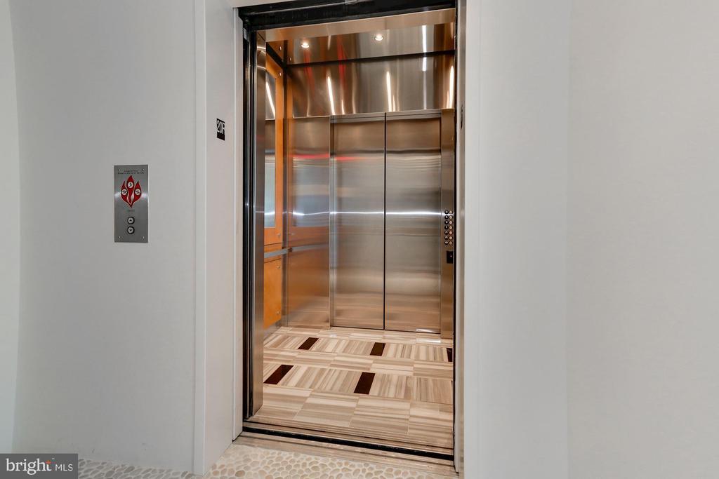 Private Elevator - 1881 N NASH ST #2009, ARLINGTON