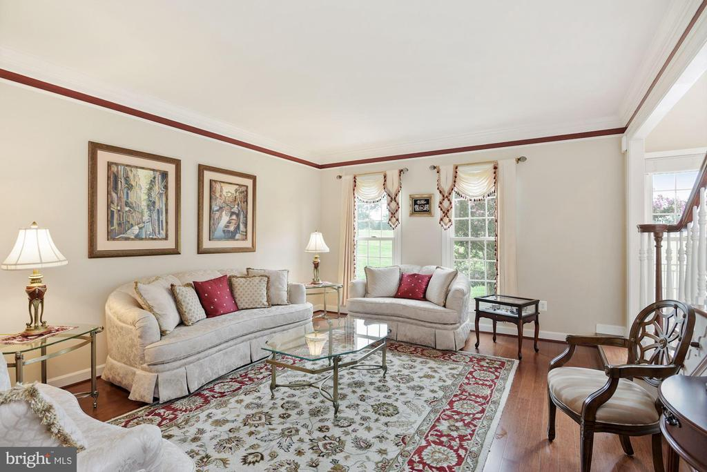Living room angle #2 - 22340 ESSEX VIEW DR, GAITHERSBURG