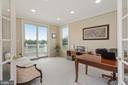 First floor den opens to deck - 22340 ESSEX VIEW DR, GAITHERSBURG