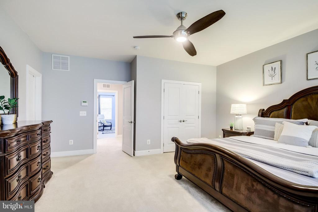 Owners suite offers 2 closets - 20287 CENTER BROOK SQ, STERLING