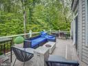 deck full length - 16496 CHATTANOOGA LN, WOODBRIDGE