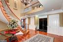 Like a harp, this two story foyer sings to you - 8225 WOLF RUN SHOALS RD, CLIFTON