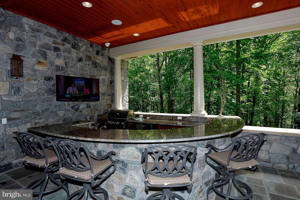 In-law Suite Patio Bar - 8225 WOLF RUN SHOALS RD, CLIFTON