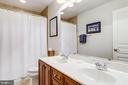 Full Bath with Two Sinks (Hall Bath) - 2618 S KENMORE CT, ARLINGTON