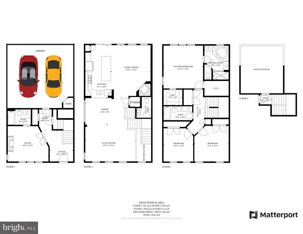 Floor plans - 2618 S KENMORE CT, ARLINGTON