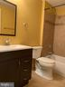 Full bath in basement - 25575 AMERICA SQ, CHANTILLY