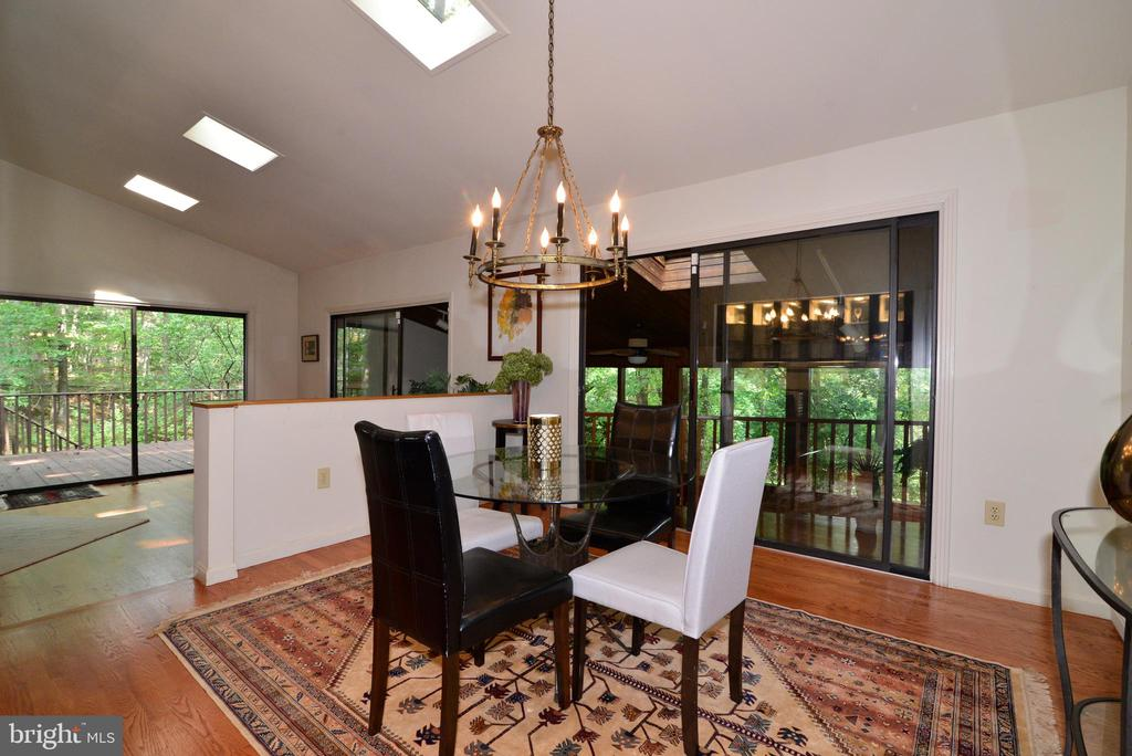 Dining room/living room - 11137 GLADE DR, RESTON