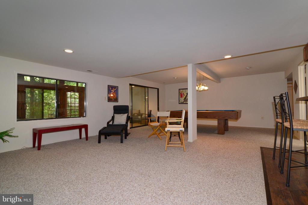 Recreation room - 11137 GLADE DR, RESTON