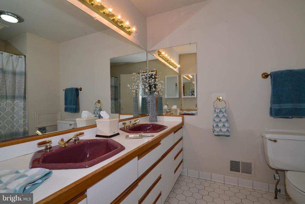 Owner's bathroom - 11137 GLADE DR, RESTON