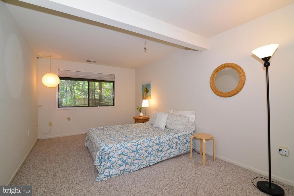 Lower level bedroom - 11137 GLADE DR, RESTON