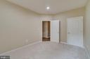 Lower level bedroom - 20024 NORTHVILLE HILLS TER, ASHBURN