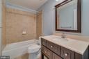 Lower level full bath - 20024 NORTHVILLE HILLS TER, ASHBURN