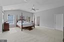 Master bedroom - 46476 MONTGOMERY PL, STERLING