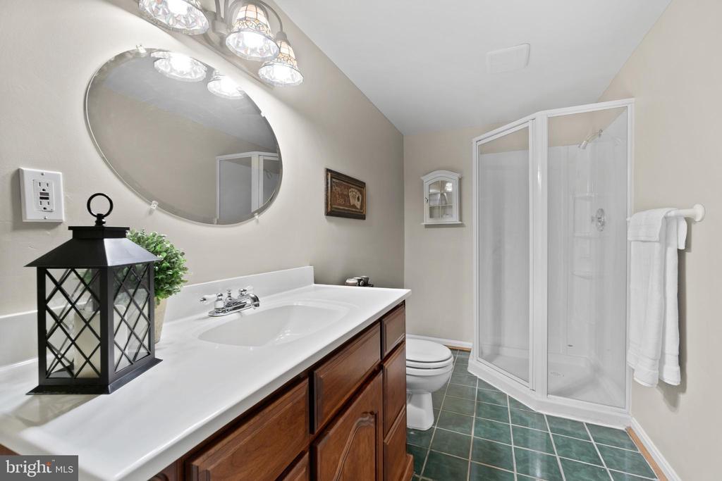 Lower level full bath - 46476 MONTGOMERY PL, STERLING