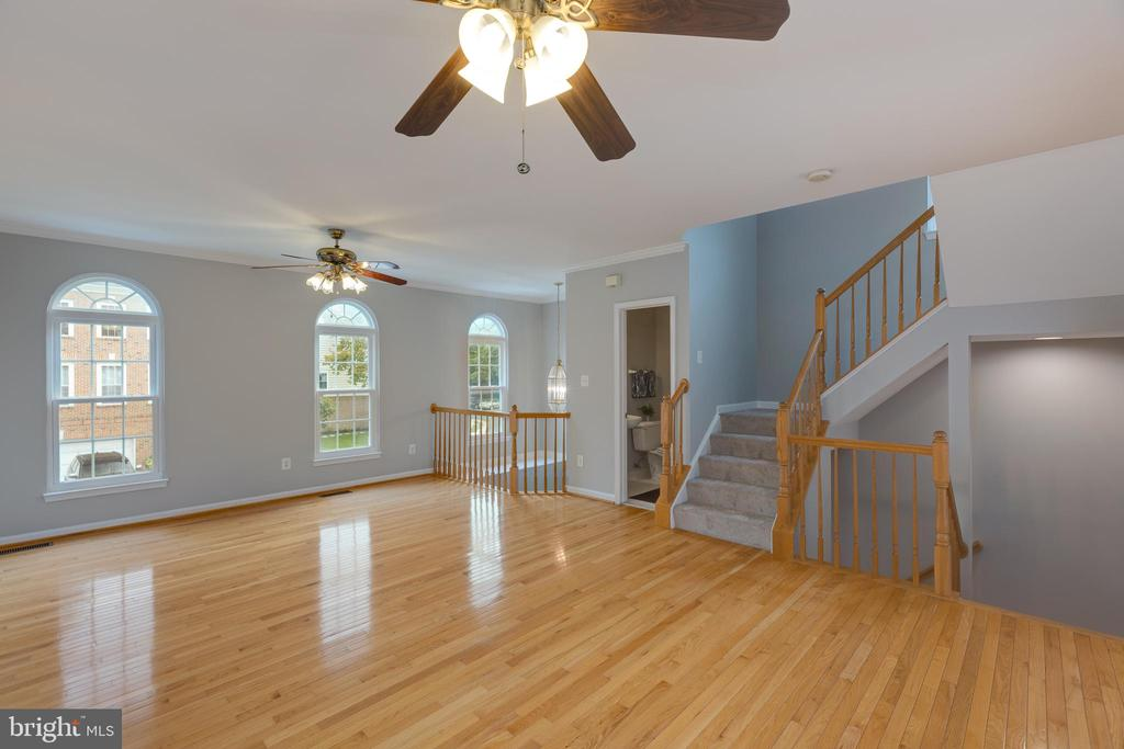 Open Concept Formal Dining/Living Room - 4772 BIDEFORD SQ, FAIRFAX