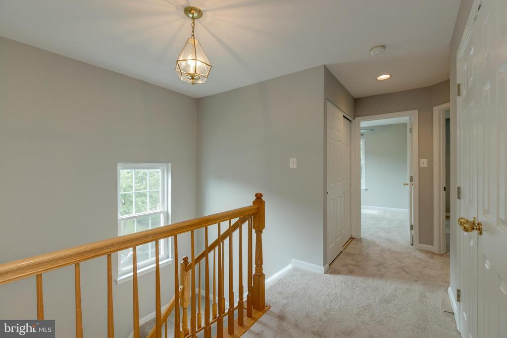 Open Upper Hallway & New Carpet - 4772 BIDEFORD SQ, FAIRFAX