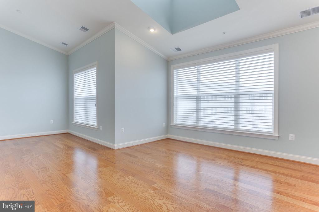Primary bedroom with vaulted ceiling - 19347 NEWTON PASS SQ, LEESBURG