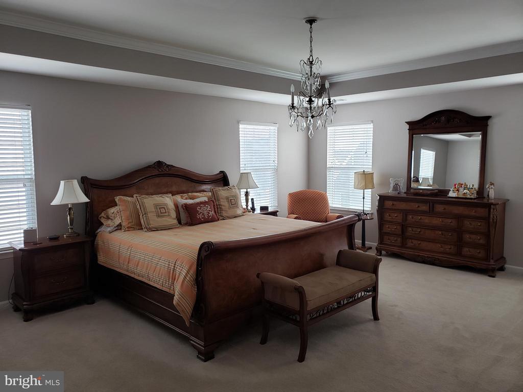 MASTER BEDROOM HAS 4 WINDOWS - 12409 MAYS QUARTER RD, WOODBRIDGE