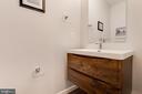 Updated Half Bath on Main Level - 5717 11TH ST N, ARLINGTON