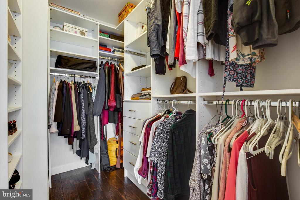 Custom Closet off Second Bedroom - 5717 11TH ST N, ARLINGTON