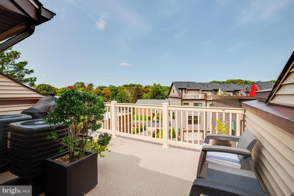 Roof Top Terrace - 5717 11TH ST N, ARLINGTON