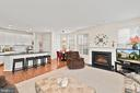 Family Room/Kitchen - 9434 STILSON DR, MANASSAS