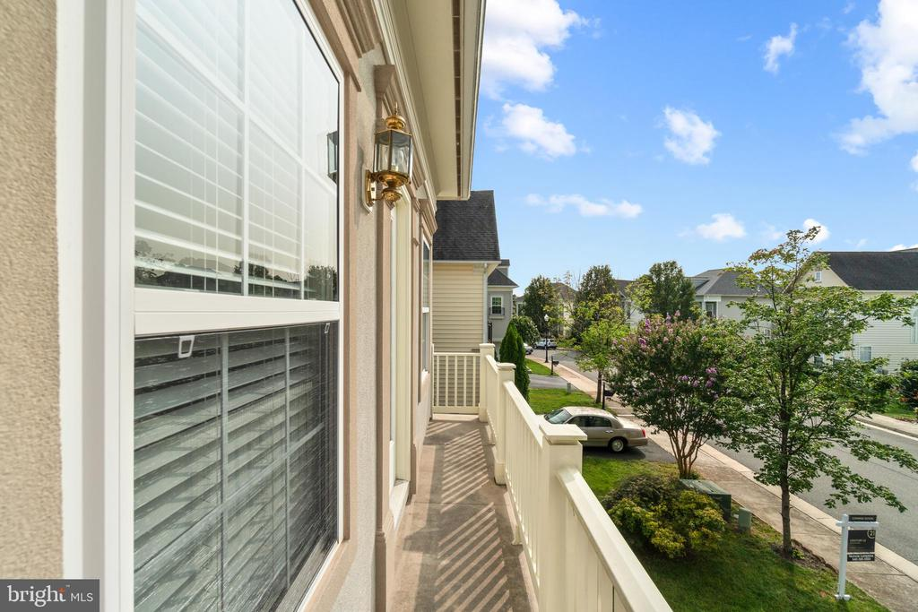 Terrace from Bedroom #3 - 9434 STILSON DR, MANASSAS