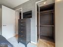 Master Bedroom Closets - 925 H ST NW #810, WASHINGTON
