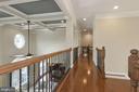 Upper level open area has hardwoods - 20669 PERENNIAL LN, ASHBURN