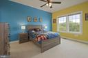 3rd bedroom with shared full bath - 20669 PERENNIAL LN, ASHBURN