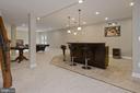 Fully finished basement with custom bar - 20669 PERENNIAL LN, ASHBURN