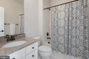 2nd bedroom full bath - 20669 PERENNIAL LN, ASHBURN