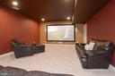 Large screen converys .(Projector does not.) - 20669 PERENNIAL LN, ASHBURN