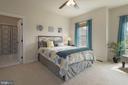 2nd bedroom has en suite full bath - 20669 PERENNIAL LN, ASHBURN