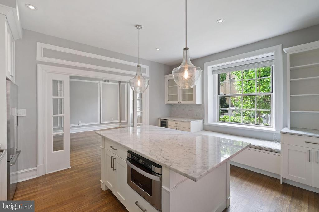 Eat in Kitchen with Lots of Natural Light - 1801 16TH ST NW #105, WASHINGTON