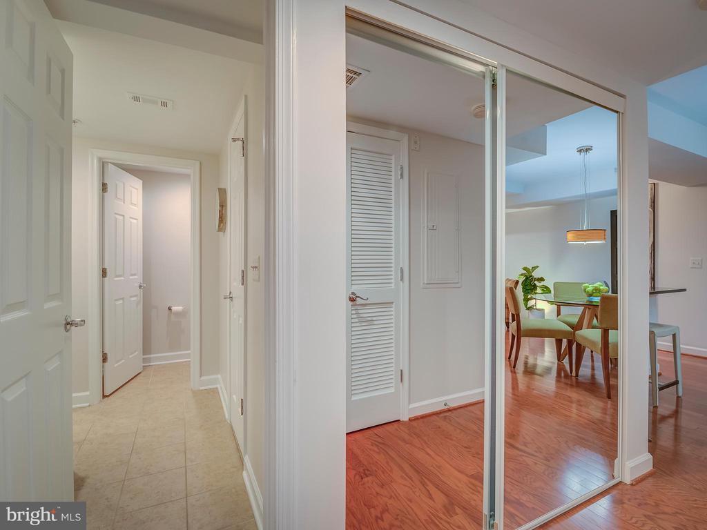 Hallway Laundry closet - 4141 S FOUR MILE RUN DR #104, ARLINGTON