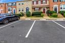 Two Reserved Spaces Directly out Front - 21115 FIRESIDE CT, STERLING