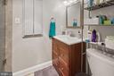 Hall bath - 501 SLATERS LN #123, ALEXANDRIA