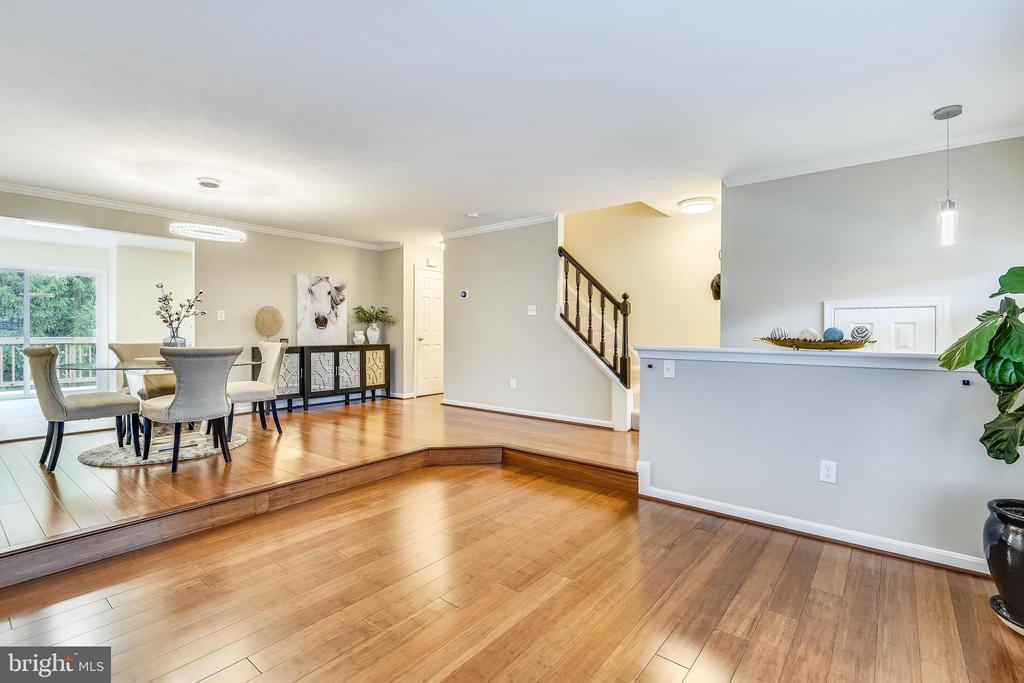 Beautiful Hardwood Floor &Amazing lighting - 21115 FIRESIDE CT, STERLING