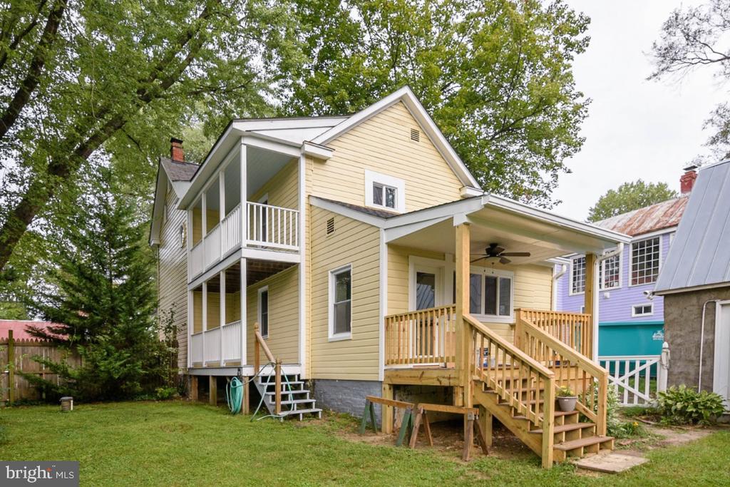 Rear View of Home - 3635 BUCKEYSTOWN PIKE, BUCKEYSTOWN