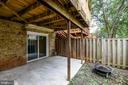 Lower level Patio - 21115 FIRESIDE CT, STERLING