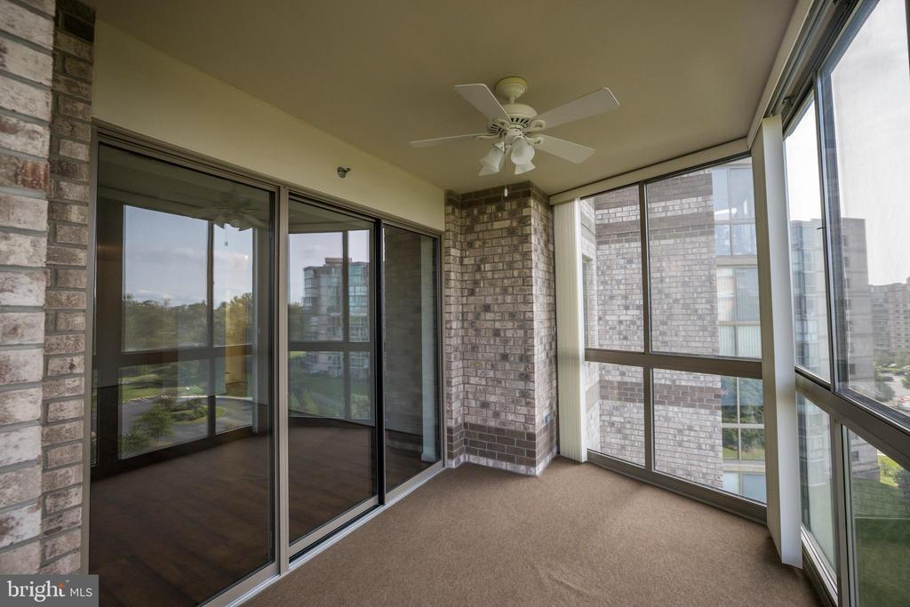 Patio Access from the Living Room - 19355 CYPRESS RIDGE TER #823, LEESBURG