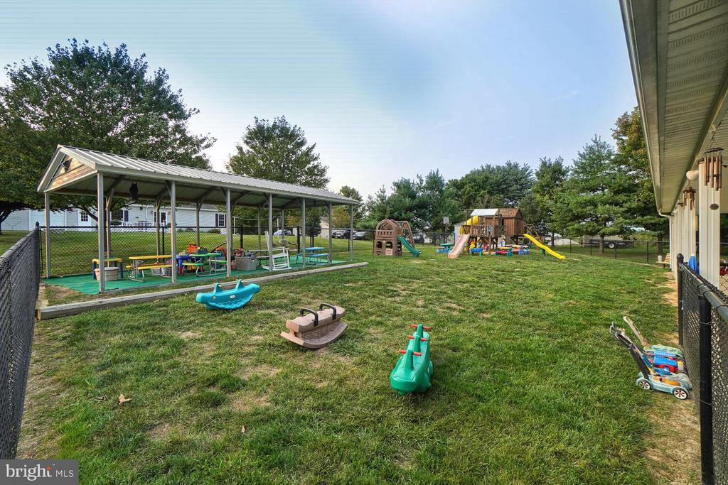 Outside play area for learning center/daycare - 11829 CASH SMITH RD, KEYMAR