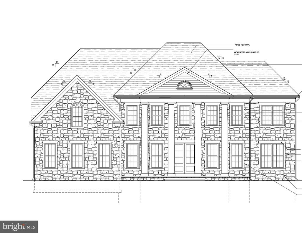 Grand Manor w/ Opt Stone Front & 2-Story Sunroom - 13909 YARBROUGH CT, FREDERICKSBURG