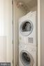 Washer and Dryer - 925 H ST NW #810, WASHINGTON