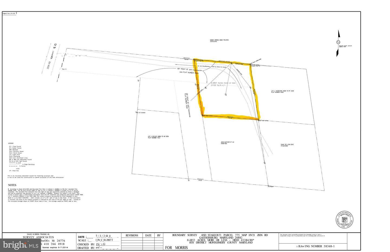 土地 のために 売買 アット Brookeville, メリーランド 20833 アメリカ
