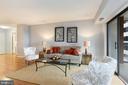 Living area - 1600 N OAK ST #308, ARLINGTON